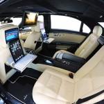 Dupla iPad 2 a 800 lóerős száguldó irodában – Brabus 800 iBusiness 2.0