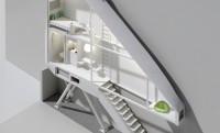 A világ legkeskenyebb lakása (72 cm) két panel közé szorítva