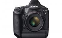 Itt a Canon új csúcsmodellje: EOS-1D X