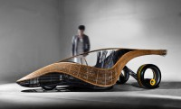 Bio-autó eldobható karosszériával