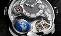 Greubel Forsey GMT – időzónás luxusóra beépített földgömbbel