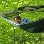 Függőágy-sátor hibrid a fesztiválszezonra