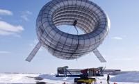 Felfújható szélturbina az atmoszférában
