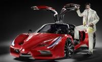 Lábbal tekerős Flintstones-Ferrari