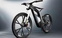AUDI e-bike egykerekező funkcióval és 250Nm nyomatékkal