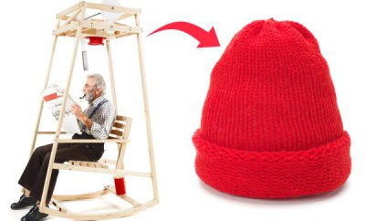 Rocking-Knit-chair