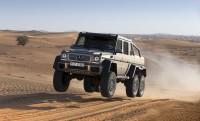 Mercedes G63 AMG 6X6: olajsejkek sivatagi játékszere
