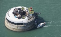 Luxushotel a James Bond sasfészekben: Spitbank Fort