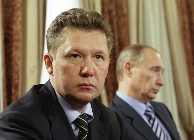 Alexei Miller, Vladimir Putin