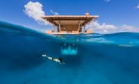 Manta resort: vízalatti hotelszoba Afrikában