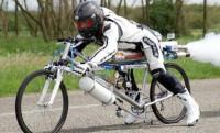Új biciklis sebességrekord: 285 km/h