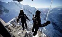 Üvegkalitka 4000 méteren az Alpokban
