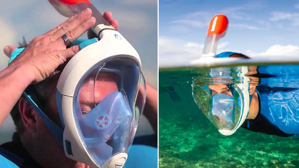 Snorkeling maszk