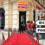 Hunger King vörösszőnyeg