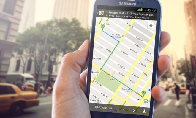 offline google térkép