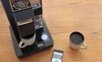 A Wi-Fi-s okoskávéfőző eszpresszója mobilról paraméterezhető