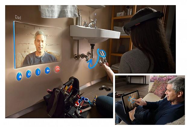 Microsoft-HoloLens-Skype