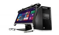 Holografikus és íves 5K monitorok a HP-től