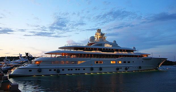 dilbar-jacht