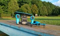 Parrot Bebop drón + Skycontroller teszt