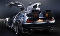 Vissza a jövőbe a 400 lóerős DeLorean időgéppel