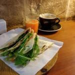 Piadina cafe Málta Valletta reggeli