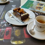 Caffe Cordina málta valletta süti, kávé