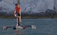 Karbon trimarán vízibicikli, ha már kinőtted a hattyút