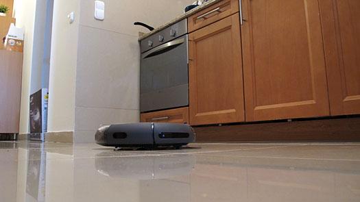 Samsung Navibot SR8845 robotporszívó teszt