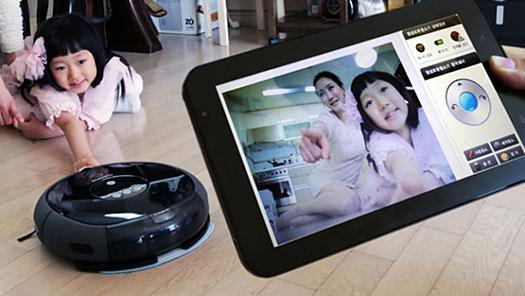 Samsung Navibot kamera