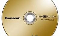 100GB-os újraírható Blu-ray lemez a Panasonic-tól