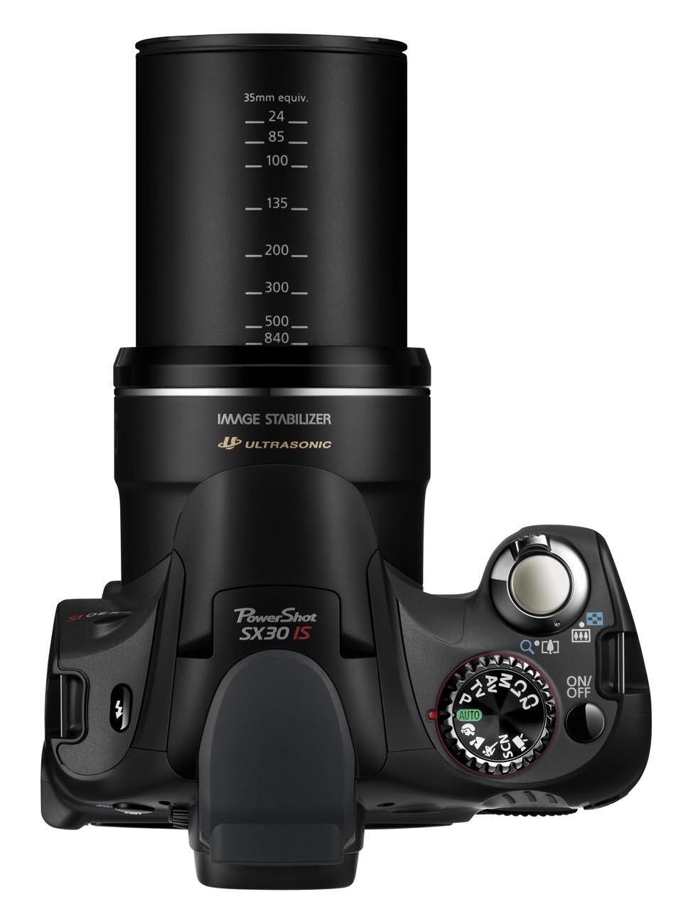 PowerShot SX30 IS TOP LENSEXT