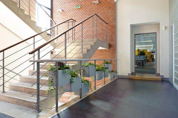 prezi iroda design lépcsőház