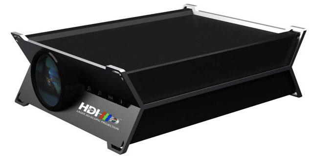HDI 3D projektor industrial