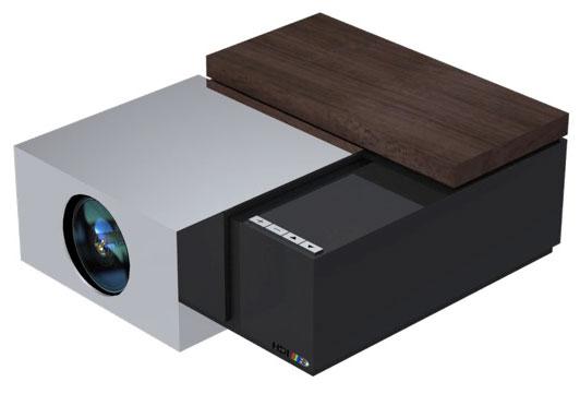HDI 3D projektor minimal