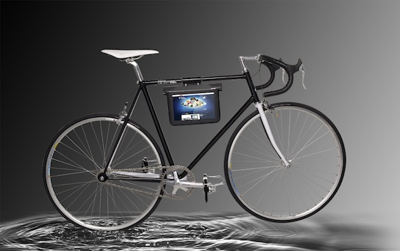Samsung presents special edition Galaxy Tab 10.1 bike equipped with device holder