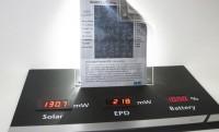 Napelemes e-papír