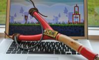 Angry Birds csináld magad USB csúzli