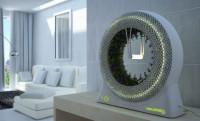 Űrtechnológiás forgó biokert a lakásban