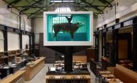 Formalinban úszó tehénnel sokkolja a vegákat egy londoni étterem