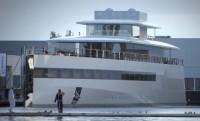 Steve Jobs 80 méteres jachtja vízre került