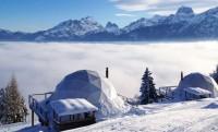 Whitepod pályaszállás, avagy luxusjurták a svájci Alpokban
