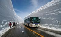 20 méteres hóban is száraz út, Japánban