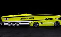 Cigarette AMG: 160 km/h-val hasít a vízen az elektromos SLS