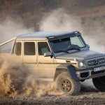 Mercedes G63 AMG 6X6 is the Largest and Most Extreme Road Legal SUV