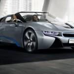 BMW_I8_Concept_Spyder_Front