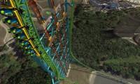 126 méteres szabadesés közben balról előzés