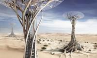 3D-nyomtatással húznának fel napelemes gombákat a sivatagban