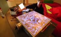 Dubstepre pörög a 3D lángorgona + videó