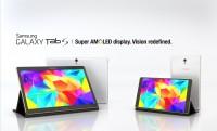 Samsung Galaxy Tab S 2560×1600 AMOLED kijelzővel